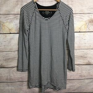 Soma striped lounge long sleeve top